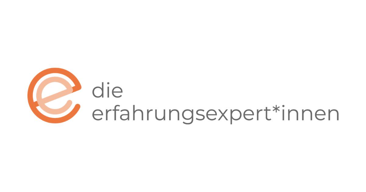 die erfahrungsexpert*innen Logo erfahrungsexperten